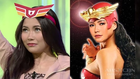 "TWBA: Yeng Constantino ""auditions"" for Darna!  Image Thumbnail"