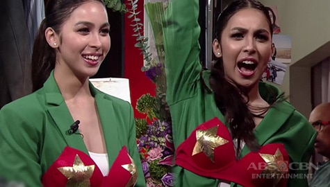 TWBA: Julia Barretto wears Darna's iconic bra as she reenacts her audition for the role Image Thumbnail
