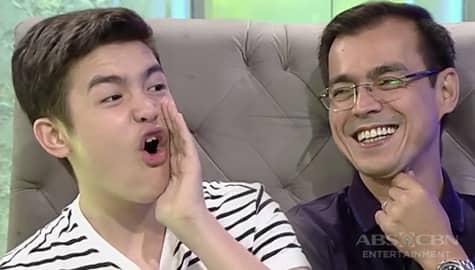 TWBA: Sino ang mas gwapo kina Isko Moreno at kanyang anak na si Joaquin? Image Thumbnail