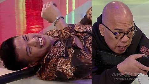 TWBA: Vin Abrenica, hindi mapigilan ang tawa habang tinuturuan si Tito Boy sa paggamit ng rifle  Image Thumbnail