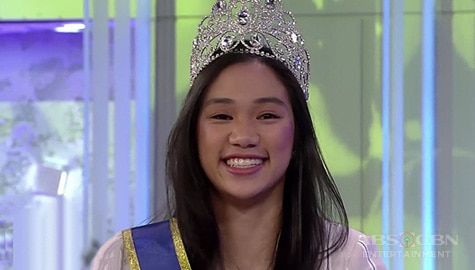 """Tito Boy asks Bea de Leon on TWBA: """"Would you like to be a beauty queen?"""" Image Thumbnail"""