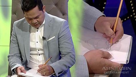 TWBA: Bayani, pinakitaan si Tito Boy ng kanyang talento sa pagguhit Image Thumbnail