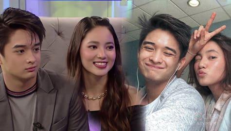 TWBA: Lance at Angela, nilinaw ang status ng kanilang relasyon ngayon sa labas bahay ni Kuya Image Thumbnail