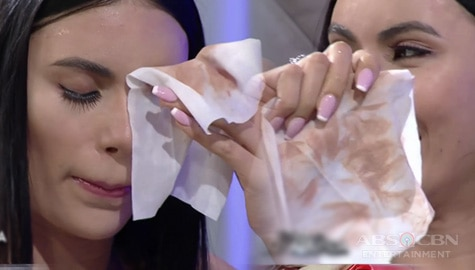 WATCH: Gazini Ganados removes her makeup on TWBA Image Thumbnail
