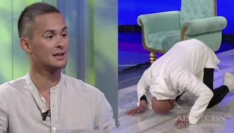 """TWBA: Matteo, itinuro kay Tito Boy ang naranasang punishment na """"Tusok Ulo"""" Image Thumbnail"""