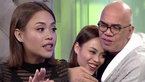 TWBA: Kim Molina, naluha sa saya sa kanyang kauna-unahang interview with Tito Boy  Image Thumbnail