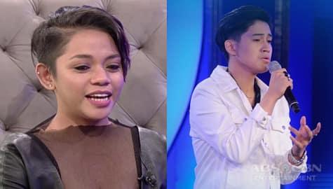 """TWBA: Trish, nakilala ang """"man of her dreams"""" sa Idol Philippines na si Isaiah Image Thumbnail"""