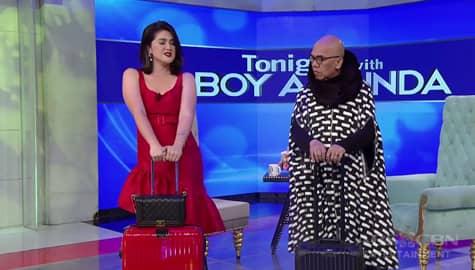 """TWBA: Dimples, tinuruan ng """"Señorita"""" dance moves si Tito Boy! Image Thumbnail"""