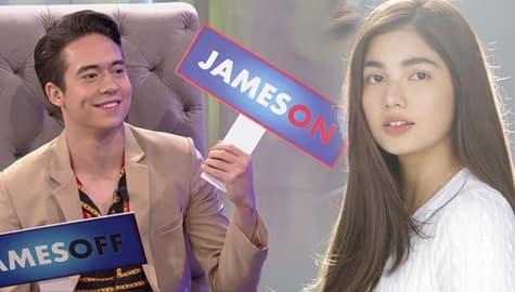 TWBA: JamesON or JamesOFF? Gusto ba ni Jameson na maging leading man ni Jane sa Darna? Image Thumbnail