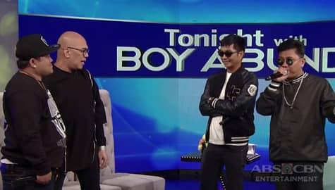 TWBA: Tito Boy, hinamon sa isang rap battle sina Shernan, Smugglaz at Bassilyo Image Thumbnail