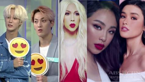 TWBA Throwback: K-Pop group VAV reacts to Kapamilya celebrities Image Thumbnail