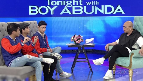 TWBA UNCUT: Paulo Angeles, Mark Oblea, and McCoy De Leon's full interview Image Thumbnail