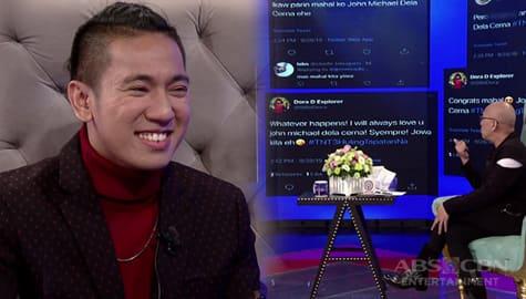 TWBA: John Michael, natutuwa sa mga positibong komento sa kanya ng netizens Image Thumbnail