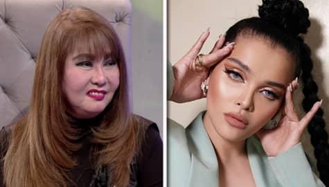"""TWBA: Anong reaksyon ni Imelda Papin sa version ni KZ Tandingan ng kantang """"Isang Linggong Pag-ibig""""? Image Thumbnail"""