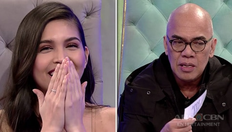 'Sex or chocolate?' Maine Mendoza refuses to answer the ultimate Fast Talk question on TWBA Image Thumbnail