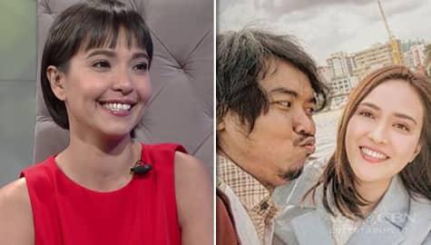 """TWBA: Alessandra, masaya na nagkaroon ng Indonesian remake ang kanilang movie ni Empoy na """"Kita Kita"""" Image Thumbnail"""