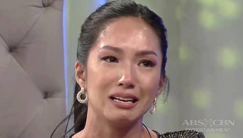 WATCH: Roxanne Barcelo becomes emotional on TWBA Image Thumbnail