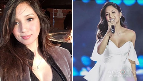 Roxanne Barcelo shares her thoughts before singing on Tawag ng Tanghalan Image Thumbnail