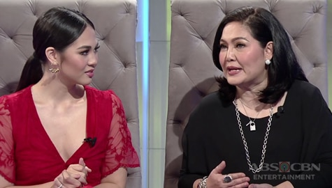 TWBA Throwback: Maricel Soriano gives love advice to Janella Salvador Image Thumbnail