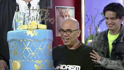 TWBA: James Reid, may birthday surprise para kay Tito Boy Image Thumbnail