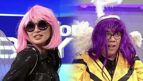 TWBA: Nadine at Tito Boy, nagkatuwaan sa pagsuot ng costumes Image Thumbnail