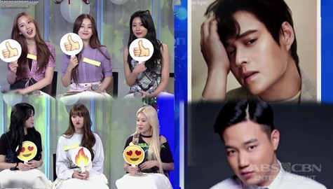 TWBA: MOMOLAND reacts to some Kapamilya actors using emojis Image Thumbnail