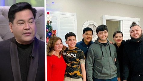 TWBA: Martin, nag-celebrate ng Pasko kasama ang kanyang exes na sina Pops at Katrina Image Thumbnail