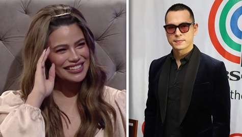 "TWBA: Denise Laurel at Jake Cuenca, ""nandiri"" sa kanilang kissing scenes? Image Thumbnail"