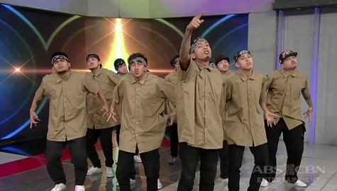 WATCH: Kenyo Street Fam shows off their winning dance moves on TWBA!  Image Thumbnail