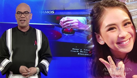 TWBA: Sarah Geronimo, spotted na suot ang wedding ring sa taping ng The Voice Teens Image Thumbnail