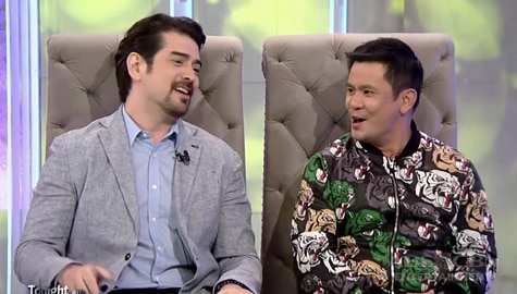 "WATCH: Ian Veneracion and Ogie Alcasid give a ""KilaboTitos"" treat on TWBA"