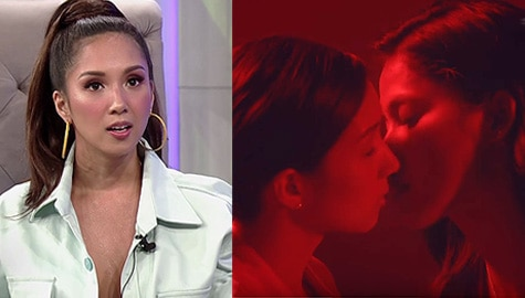 TWBA: Roxanne shares experience about her kissing scene with co-actress Ann Colis Image Thumbnail