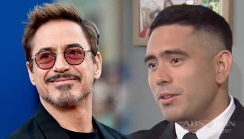 TWBA Throwback: Gerald Anderson recalls fanboy moment over Robert Downey Jr. Image Thumbnail