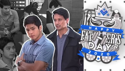 FATHER'S DAY 2020: 10 times Marco tried to make up for lost time as a father to Daniel in Walang Hanggan Image Thumbnail