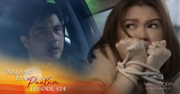 Walang Hanggang Paalam: Emman, nakahanap ng paraan para sundan ang mga dumukot kay Celine | Episode 24