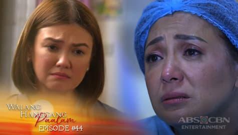 Walang Hanggang Paalam: Celine at Amelia, dalangin ang kaligtasan ng kanilang mga anak | Episode 44 Thumbnail