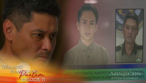 Walang Hanggang Paalam: Leo, nagsimula na maipit sa kaso ng Pamilya Hernadez | Episode 71 Image Thumbnail