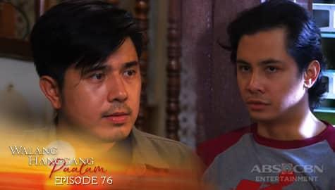Walang Hanggang Paalam: Caloy, nakiusap kay Emman na balikan si Celine | Episode 76 Image Thumbnail