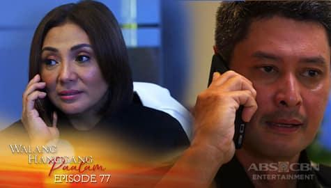 Walang Hanggang Paalam: Leo, iginiit kay Amelia na ipagpaliban ang pagtakas ni Cely | Episode 77 Image Thumbnail