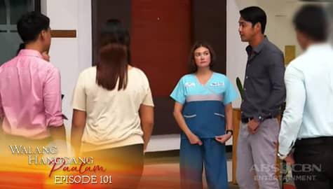Walang Hanggang Paalam: Anton, ipinaalam sa lahat ang kanilang kasal ni Celine | Episode 101 Image Thumbnail