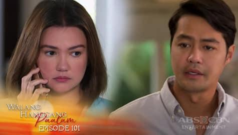 Walang Hanggang Paalam: Celine, nagduda sa kaniyang narinig sa telepono ni Anton | Episode 101 Image Thumbnail