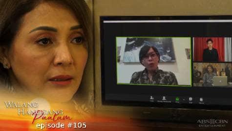 Walang Hanggang Paalam: Amelia, tinanggal bilang lider ng organisasyon | Episode 105 Image Thumbnail