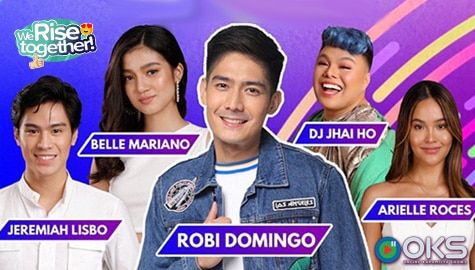 We Rise Together LIVE with Robi Domingo, DJ Jhai Ho, Arielle Roces, Belle Mariano & Jeremiah Lisbo