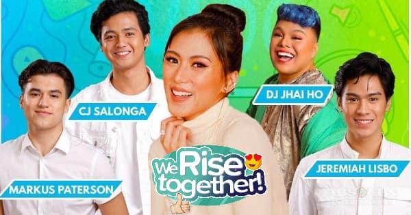 We Rise Together LIVE with Alex Gonzaga, DJ Jhai Ho, CJ Salonga, Markus Paterson & Jeremiah Lisbo Image Thumbnail