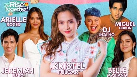 We Rise Together LIVE with Kristel Fulgar, Jeremiah Lisbo, Miguel Odron, Belle Mariano, Arielle Roces & DJ Jhai Ho Image Thumbnail