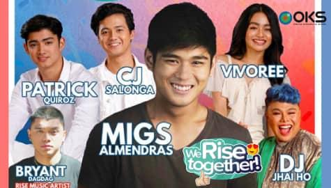 We Rise Together LIVE with Migs Almendras, Vivoree, CJ Salonga, Patrick Quiroz, Bryant Dagdag & DJ Jhai Ho Image Thumbnail