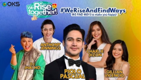 We Rise Together LIVE with Piolo Pascual, Anthony, Charlie, Gillian & DJ Jhai Ho Image Thumbnail