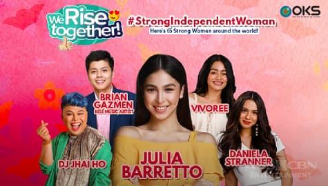 We Rise Together LIVE with Julia Barretto, Vivoree, Daniela, Brian & DJ Jhai Ho Image Thumbnail