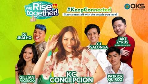 We Rise Together LIVE with KC Concepcion, Jake Zyrus, Gillian, Patrick, CJ & DJ Jhai Ho Image Thumbnail