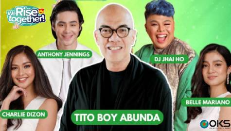We Rise Together LIVE with Boy Abunda, Charlie Dizon, Belle Mariano, Anthony Jennings & DJ Jhai Ho Image Thumbnail